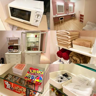 24Hレンタル宅飲みスペース新潟古町店の設備